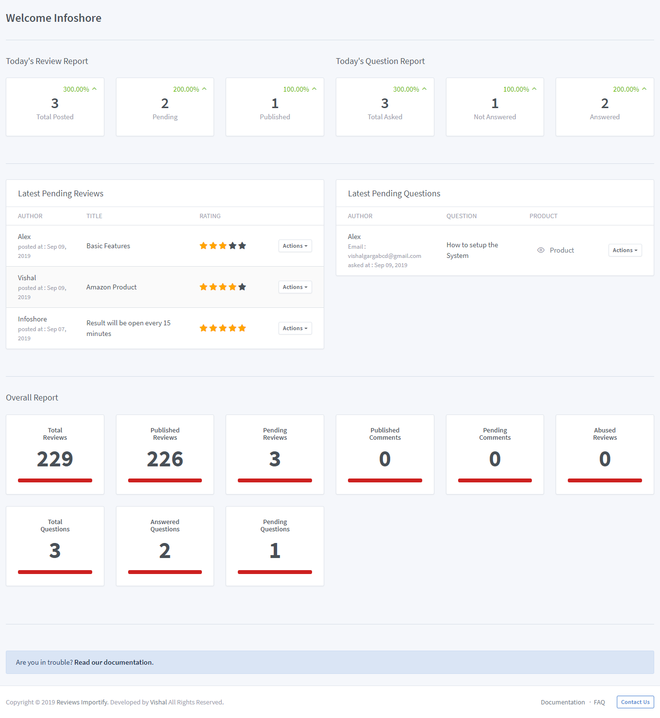reviews importify app screenshot image